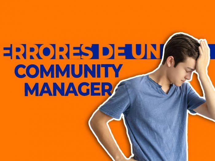 Errores de un Community Manager